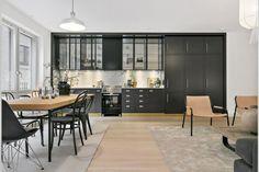 Une cuisine noire pour changer du blanc | PLANETE DECO a homes world | Bloglovin'