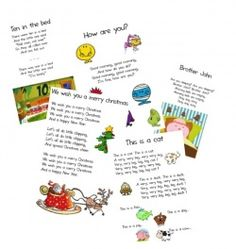 Chants et vidéos en anglais - Cycle 2 English Time, Learn English, Preschool Songs, English Activities, Learning Arabic, English Lessons, English Vocabulary, School Classroom, First Day Of School