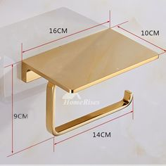 Solid Brass Hotel Bathroom Single Roll Toilet Paper Holder with Shelf Chrome - Toilet Paper Holders Modern Toilet Paper Holders, Toilet Roll Holder, Brass Toilet Paper Holder, Bathroom Storage, Bathroom Interior, Small Bathroom, Plywood Furniture, Home Furniture, Furniture Storage
