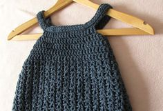 This video is a step by step tutorial on how to crochet an easy pinafore dress / top / shirt / tunic. This pinafore dress can be made in any size from baby t...