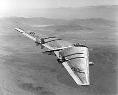 Northrop Flying Wing YRB-49A, via Flickr