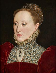 Queen Elizabeth I, English School, c.1560  - Click to enlarge