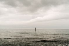 A cloudy day at Killiney Beach