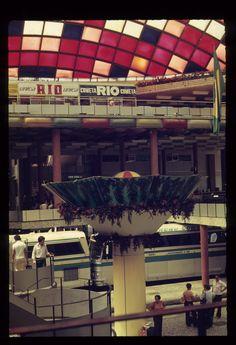 Chafariz da Antiga Estação Rodoviária de São Paulo 1981