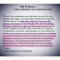 I AM A PRINCESS AND GOD IS MY PAPA...