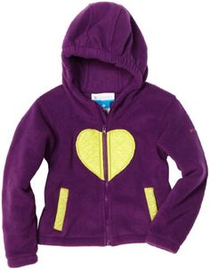 Columbia Girls 7-16 Cuddly Kailyn Fleece Jacket