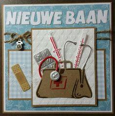 Renate's hobbyblog: 'Nieuwe Baan' doktersassistente