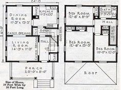 Thats A Nice Looking Layout Modified Foursquare Plans - Craftsman foursquare house plans