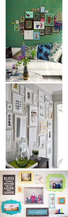 Paredes decoradas con fotos | Sarisfashion