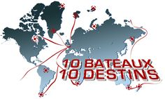 10 Skippers, 10 Destiny  ...  Link : www.kissthesea.com