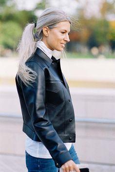 Vanessa Jackman: Paris Fashion Week SS 2016....Sarah