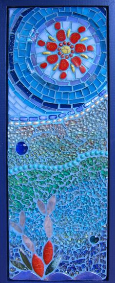 reef blues mosaic