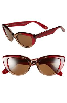 Bottega Veneta 49mm Retro Sunglasses available at #Nordstrom
