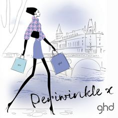 It was a wise woman who once said 'You're never fully dressed without great hair.' Meet the ghd girl who couldn't agree more. Of course, great hair doesn't just happen, every girl needs a little helping hand. Take a tip from our queen of style, Periwinkle, and invest in a classic. In three of spring's prettiest shades the ghd IV styler is hard to resist!