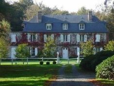 Françoise Sagan, French Villa, Honfleur, Charming House, Normandy, Architecture, Cottage Style, Beautiful Homes, Mansions