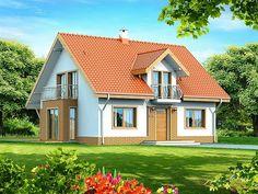 Projekt domu Belinda ( Armanda z wykuszem )