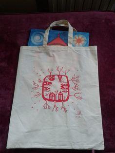 #CALENDARIO #INFANTIL #CROWDFUNDING - Bolsa con el calendario de Adviento De Alén de Ningures. Crowdfunding Verkami: http://www.verkami.com/projects/12712-calendario-de-adviento