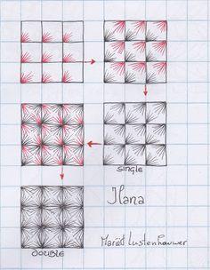 "Studio ML: ""Ilana"" & ""Ciceron"" patterns by M. Lustenhouwer in the Netherlands."