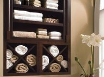 Awesome Once It Is Securely Hung, You Can Fill It With Some Fun Objects! Believe It Or Not, I Loved The Cubby Shelves So Much, It Became The Motivator That Pushed Me To Repaint The Entire Bathroom! Pretty Handsome Guy Calls It The Trickle Down