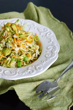 Avocado Summer Slaw