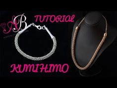 DIY Tutorial Beaded kumihimo - YouTube