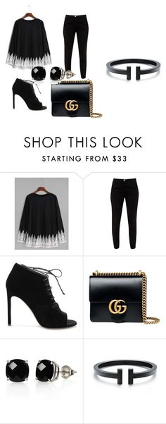 """""""Untitled #11"""" by sydneyoo on Polyvore featuring Ted Baker, Yves Saint Laurent, Gucci and Belk & Co."""