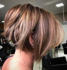 Undercut Bob with Jagged Ends