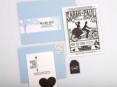 20 Smashing Examples Of Customized Printed Wedding Invitations