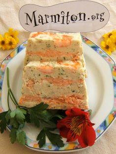 Terrine de saumon et julienne : Recette de Terrine de saumon et julienne - Marmiton