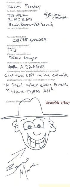 Omg Bruno Mars