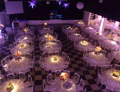 salão -mesas de convidados
