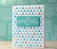Triangle Background Die by Hero Arts - $23.94 | Simon Says Stamp ... Link to Purchase Die: http://www.simonsaysstamp.com/servlet/the-63991/di089-triangle-background-2014/Detail