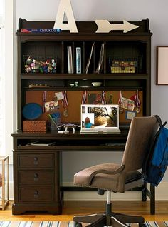Paula Deen Guys Collection Moles Finish Desk And Hutch Grand Home Furnishings K3920