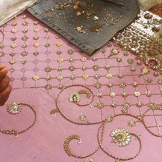 The making of an epic #sneakpeak #vogueweddingshow #MishaLakhani