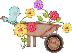 1000+ images about Spring Clipart on Pinterest | Holly Hobbie ...
