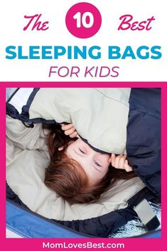 Having trouble finding the right sleeping bag for your kid? We'll help you narrow down the field by showing you our 10 favorites for a variety of purposes such as sleepovers and campouts. #cribs #cribbedding #swaddling #swaddle #swaddleblanket #bassinet #babysleep #babysleeptips #babysleepschedule #babysleeptraining Best Sleeping Bag, Kids Sleeping Bags, Camping With Kids, Travel With Kids, Camping Tips, Parenting Goals, Parenting Hacks, Bringing Baby Home, Baby Sleep Schedule