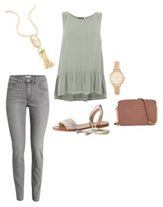 Untitled #577 by brittru84 on Polyvore featuring polyvore, fashion, style, Mint Velvet, J.Crew, Michael Kors, Kendra Scott, H&M and clothing