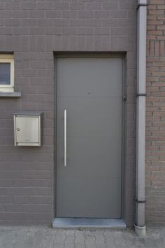 Aluminium voordeur te Niel