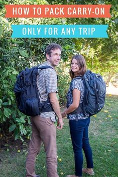 How to pack carry-on only for any trip. It's the key to stress free travel. Get tips on packing for all climates, for families, and photographers!