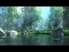 Making of forest lake 3ds max tutorial - Environment modeling - YouTube