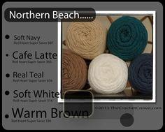 Crochet color combo