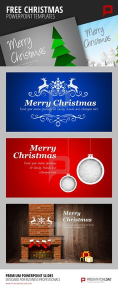The 38 best FREE CHRISTMAS   POWERPOINT TEMPLATES images on