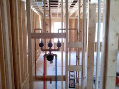 Shower plumbing for new home