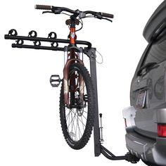 Sportrack Sr2404 4 Bike Anti Sway Hitch Rack Grey Black One Size