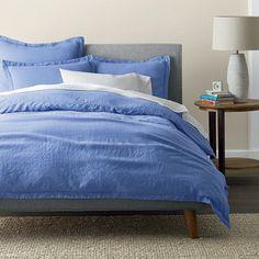 Comfort Wash Solid Linen Bedding