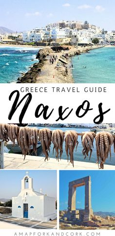 Travel guide to Naxos Island Greece. Things to do in Naxos | Naxos Beaches | Where to Stay | #Naxos #Greece #Cyclades