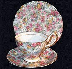Royal Albert un-named pattern Silver Gifts, Royal Albert, Tea Time, Tea Cups, Tableware, Pattern, Dinnerware, Tablewares, Patterns