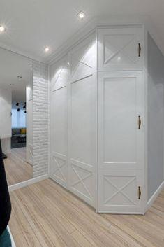 Светлая квартира в скандинавском стиле, 69 м² - МОССЭБО Дизайн интерьера и ремонт
