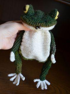 編みがま口(全身)