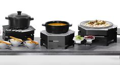 Create your own buffet station #buffet #catering #hotstation #banquet #action…
